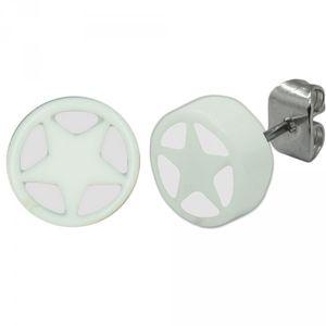 2 Stück Ohrstecker Stern Ohrring Ohrringe Sterne – Bild 7