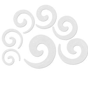 Dehnschnecke Glitzer Glitter Set Dehner Dehnstab Dehnset Taper 2 3 4 5 6 8 10 mm – Bild 8