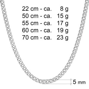 Königskette Panzerkette XXL Panzerarmband Set oder Einzeln Halskette Herren – Bild 11