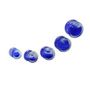 1 Effekt Tunnel Liquid Flüssigkeit Glitter 8- 16 mm blau grün gelb orange weiß – Bild 6