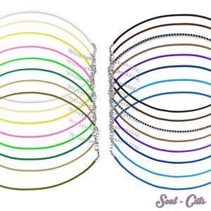 geflochtene Kette in verschiedenen Farben  – Bild 1