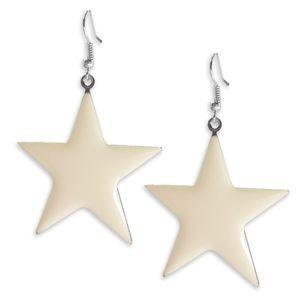 1 Paar süsse Ohrhänger leuchtende Sterne Ohrringe pink gelb blau grün – Bild 8