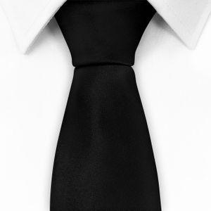 NEU: klassische Krawatte inkl. Anleitung breit viele Farben Satin Schlips Herren – Bild 25