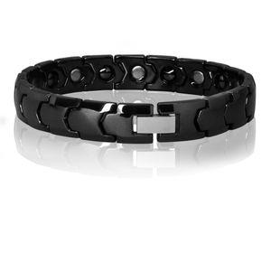 1 Design Armband Keramik schwarz weiß – Bild 2
