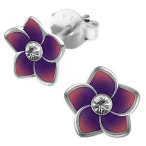 1 Paar Blumen-Ohrstecker aus 925er Sterling Silber – Bild 8