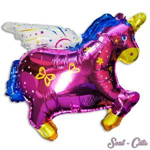 1 Stück Folienballon Einhorn
