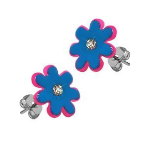 Ohrstecker Blume viele Farben – Bild 6