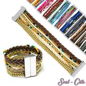 Trendiges Ibiza Style Armband Hippie  – Bild 1