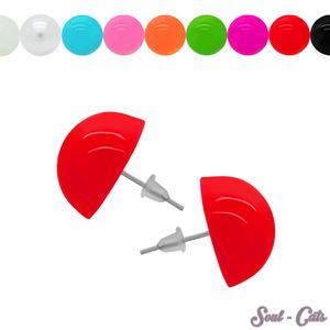 1 Paar Ohrstecker in vielen Farben – Bild 1