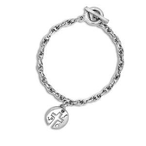 1 trendiges Ketten Armband mit versch. Anhängern  – Bild 7