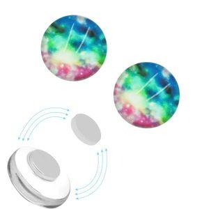 1 Paar Magnet Fake Plug Galaxy – Bild 2