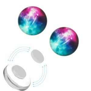 1 Paar Magnet Fake Plug Galaxy – Bild 3