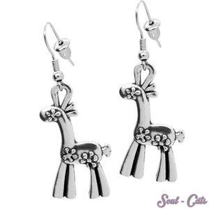 Ohrringe Ohrhänger Giraffe – Bild 1