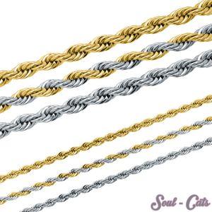 Rope Kette aus Edelstahl