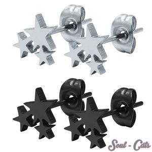 1 Paar Ohrstecker Sterne – Bild 1
