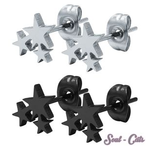 1 Paar Ohrstecker Sterne