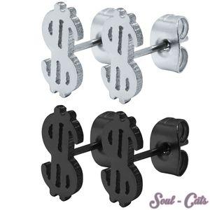 1 Paar Ohrstecker Dollar – Bild 1