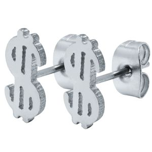 1 Paar Ohrstecker Dollar – Bild 3