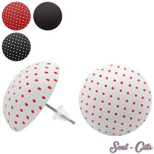 Ohrstecker Punkte / Polka-Dots