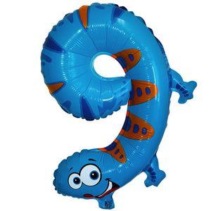 1 Stück Folienballon Zahl Tiermotive – Bild 11