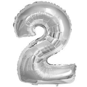 1 Stück Folienballon Zahl groß – Bild 13