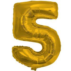 1 Stück Folienballon Zahl groß – Bild 23