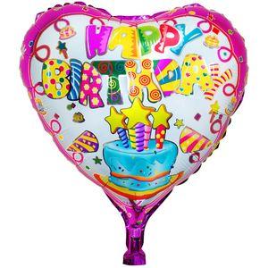 1 Stück Folienballon Happy Birthday Herz – Bild 2