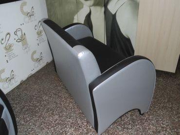BEL AIR 2-Sitzer / Dinerbank / Sofa / Lounge / Clubsofa Sitzbank  ECHT LEDER – Bild 3