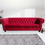 "Chesterfield Sofa ""WILHELM I"" 001"