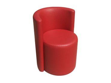 Clubsessel Food - Sessel Kunstleder Freie Farbwahl - Rund – Bild 1