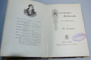 Alessandro Botticelli von M. Herbert Ein Künstlerleben 1921
