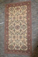 Forush Lano Carpets 100% Lanoset 460000 Punkte Teppich 160 x 63 cm vintage
