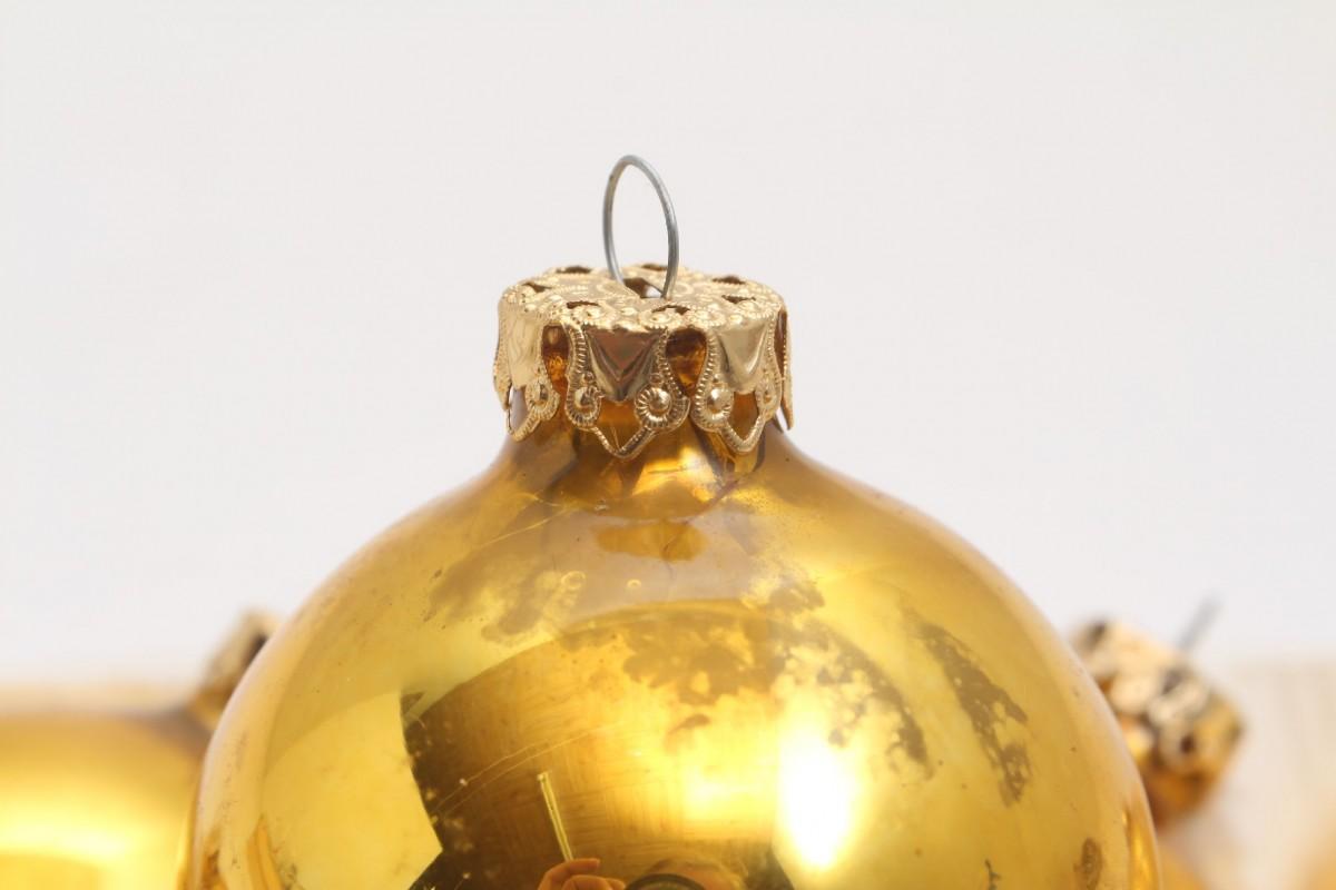 Christbaumkugeln Gelb.12 Gelbe Christbaumkugeln Weihnachtskugeln Weihnachtsbaum Kugeln Gelb Glänzend