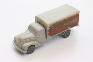 Alter Wiking LKW Modell Auto Möbelwagen Transport Spedition 50er Jahre