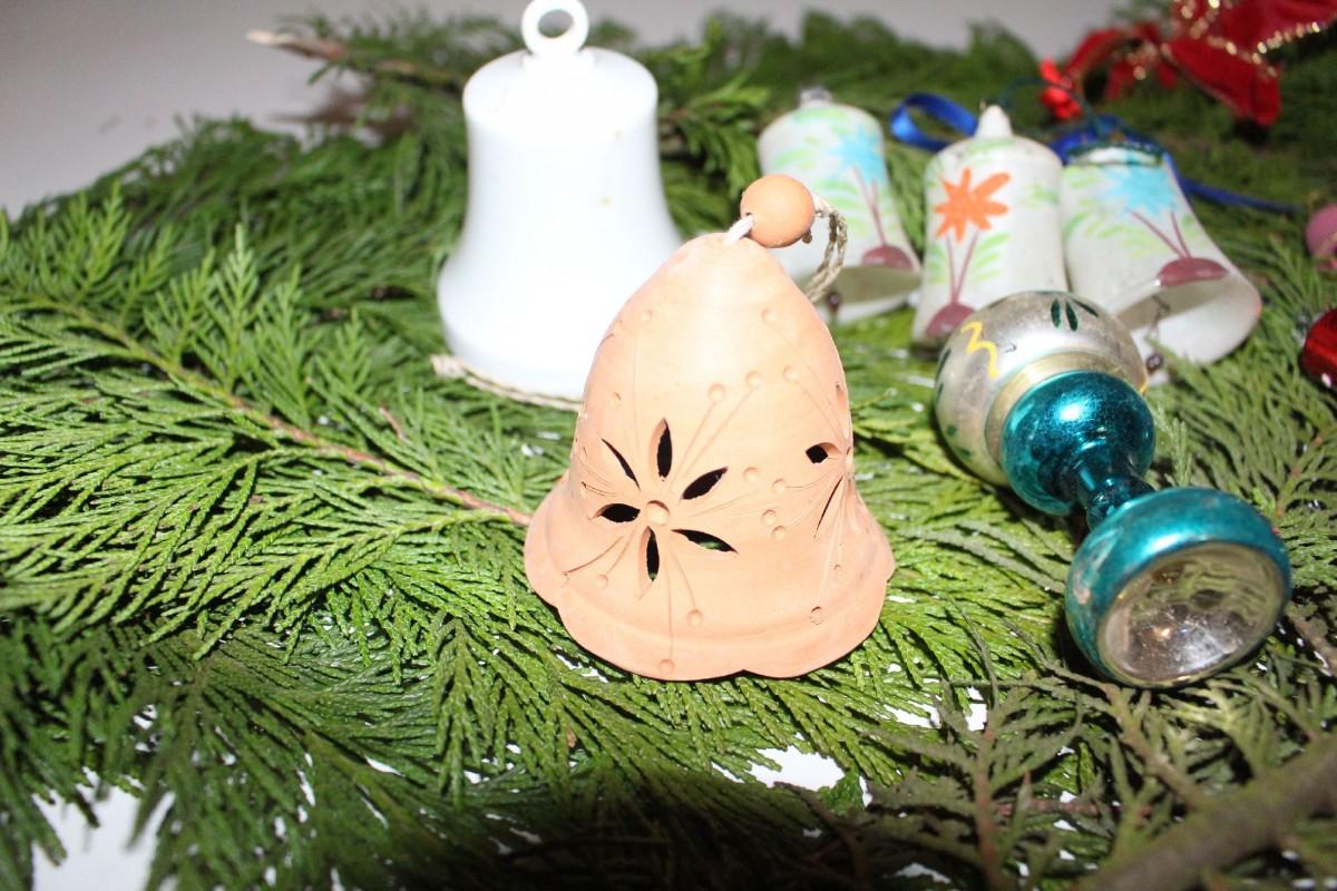 Christbaumkugeln Metall.Weihnachtskugeln Weihnachtsschmuck Christbaumkugeln Glocke Metall Glas Ton