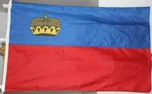 Fahne Liechtenstein Europa Flagge Nationalflagge Hissflagge 95 x 145 cm