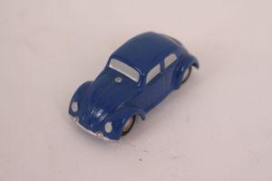 Schuco Piccolo 712 720 Replica Volkswagen VW Käfer blau Metall 1:90 Modellauto