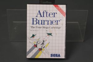 After Burner SEGA Master Four Mega Cartridge Spiel 1 One Single Player PC Game