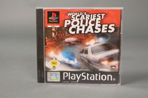 World´s Scariest Police Chases  Playstation 1 PS1 Multi Player Spiel Game