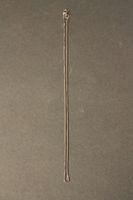333 Weißgold Collierkette 0,7mm Venezia Kette kettchen 38cm Würfel neclace