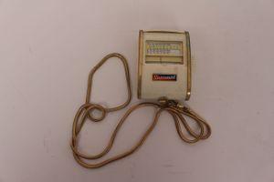Gossen Sixtomat Belichtungsmesser Color finder mit Kette Germany 9704955 Vintage