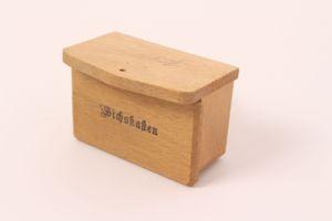 Antikes Puppenstubenzubehör Eimer Briefkasten Besen Handfeger Konvolut Spielzeug