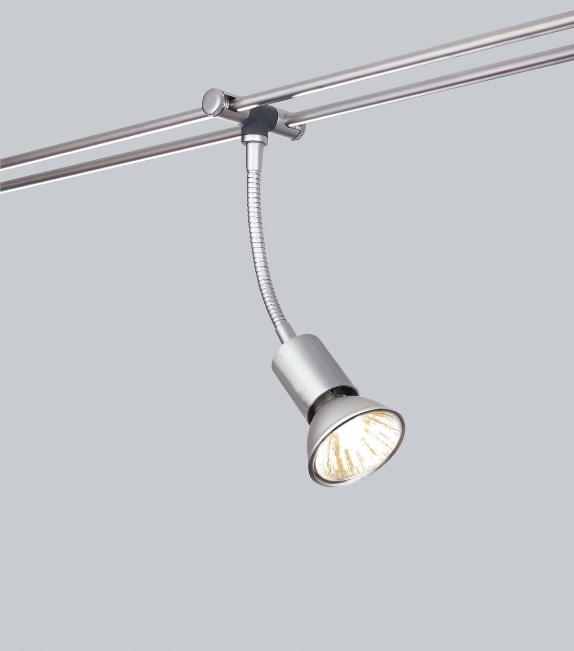 Paulmann 12V Einzelteile 97216 Rail System Light&Easy Spice Spot Basil 1x35W GU5,3 Chrom matt 12V Metall
