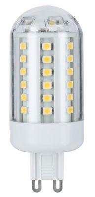 LED HV-Stiftsockel 3W 60 LEDs G9 Warmweiß