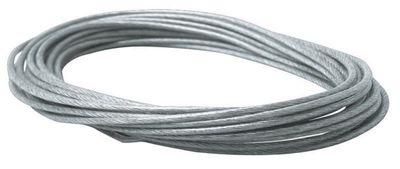 1x Paulmann 10m Sicherheits-Spann-Seil isoliert 2,5qmm