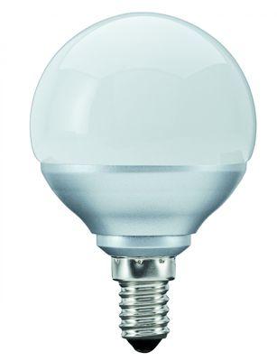 280.76 Paulmann E14 Fassung LED Miniglobe 60 1x1,6W E14 Opal