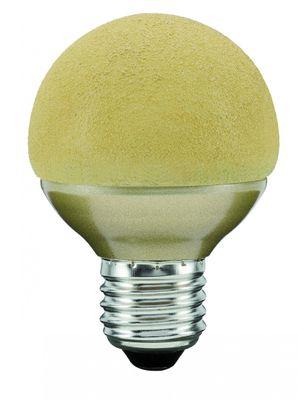 280.77 Paulmann E27 Fassung LED Miniglobe 60 1x2,3W E27 Eiskristall Bernstein