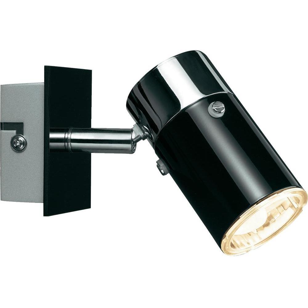 paulmann zyli schwarz gu10 wandlampe deckenleuchte je 7w. Black Bedroom Furniture Sets. Home Design Ideas