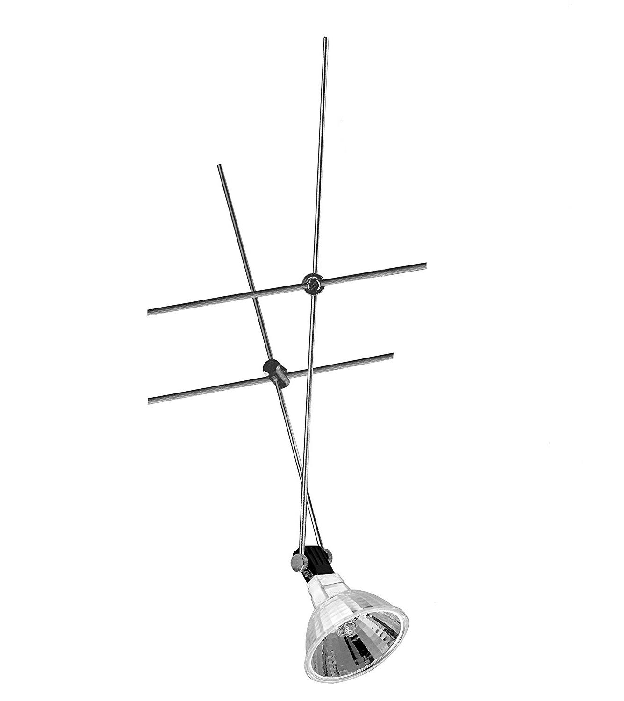 1883 Nice Price Seil Spot Seilsystem 12V 20W inkl. Leuchtmittel Chrom 20watt 001