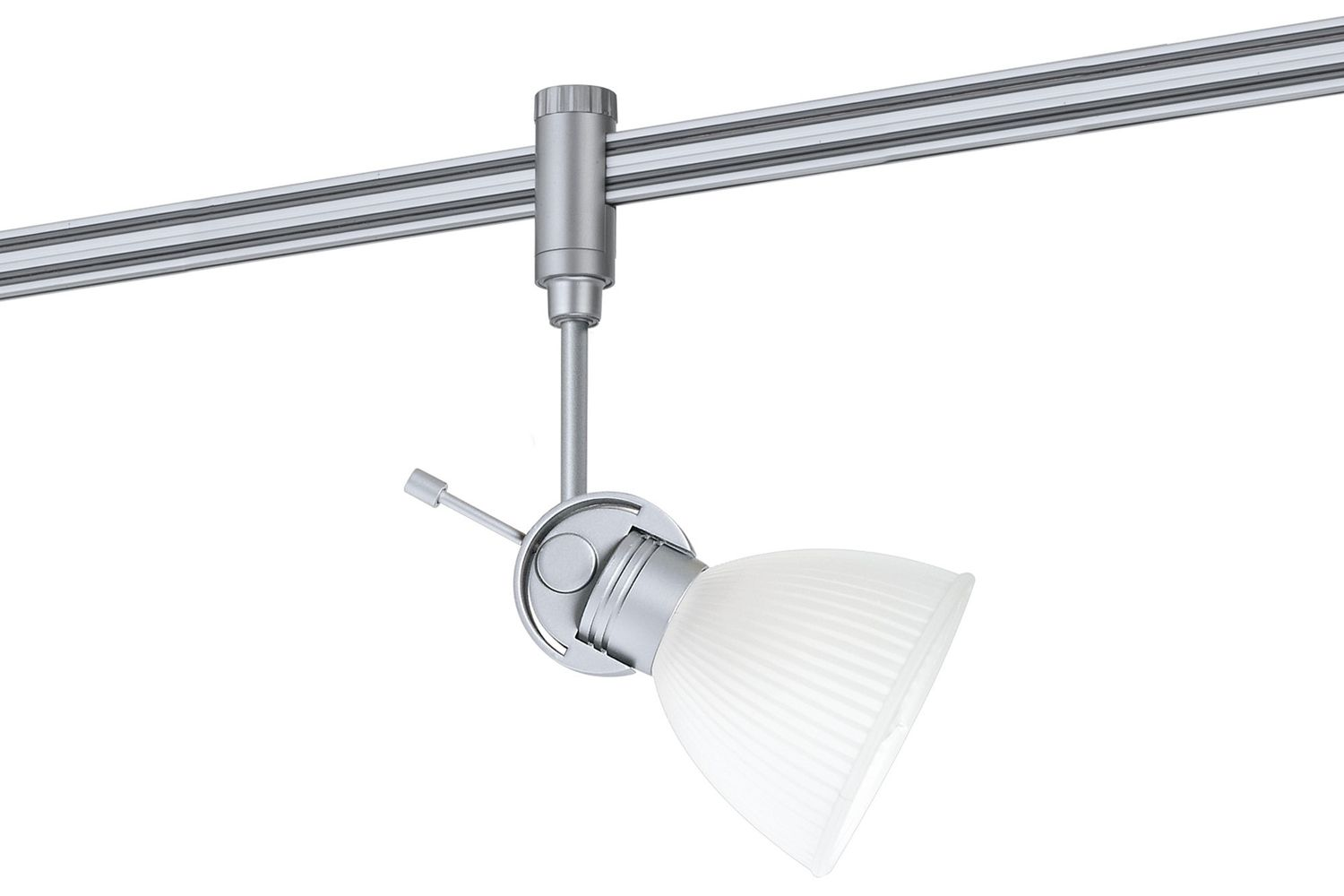 Paulmann Phantom Einzelteile 97335 RS Light&Easy Phantom Spot Phara 1x40W G9 Titan/Satin 230V Metall/Kunststoff/Glas